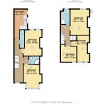 Example of standard property floor plan of HMO